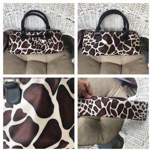 Handbags - Fashion insulated lunch bag - giraffe print
